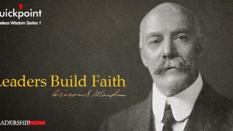 Leaders Build Faith